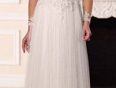 23 Lovely Wedding Dresses for Over 40 Years Old