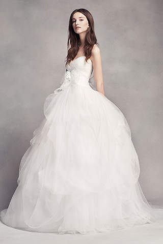 petite wedding gown unique white by vera wang wedding dresses and gowns 1