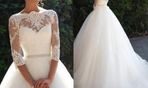 23 Unique Wedding Dresses for Petite Small Bust