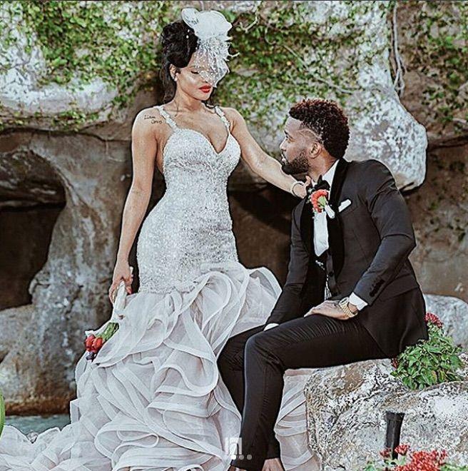Wedding Dresses fort Lauderdale Elegant Konshens 🇯🇲 Singer Reggae Wedding