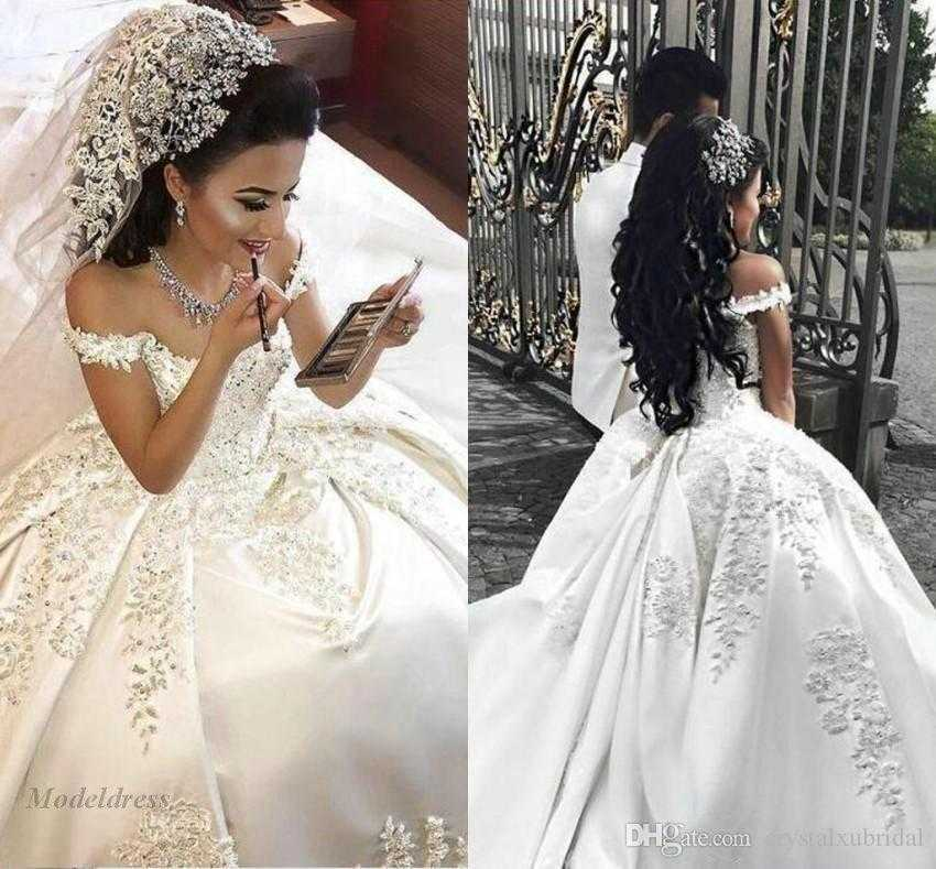 2018 new arabic ball gown wedding dresses f shoulder illusion lace lovely of arabic wedding traditions of arabic wedding traditions