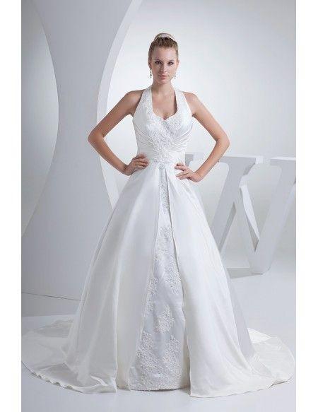 wedding dress halter open back long halter lace split design wedding dress oph1171 recent