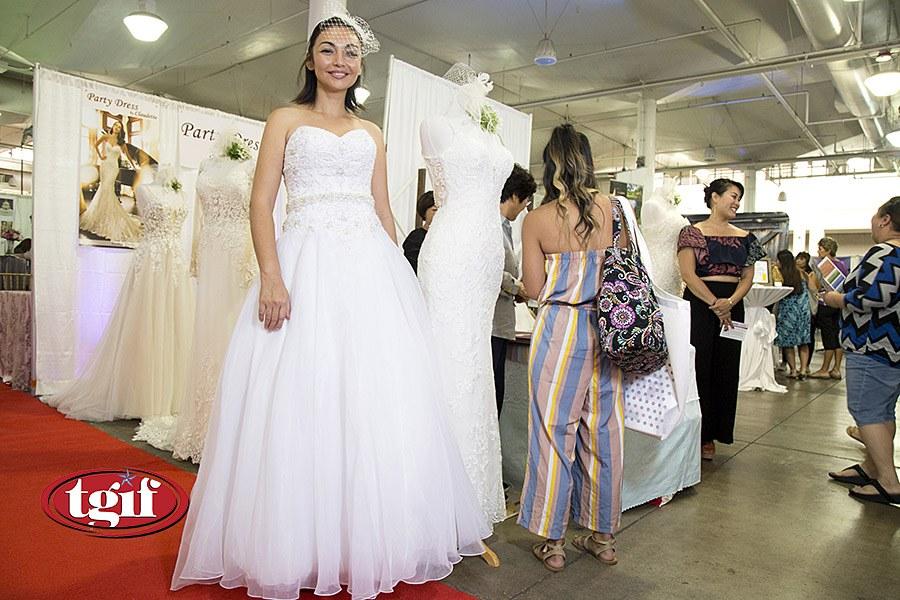 Wedding Dresses Honolulu Luxury Hawaii Bridal Expo 2019 at the Blaisdell Exhibition Hall