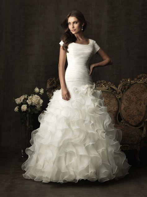039e0d7437d3a8e20f c c8b modest wedding dresses dresses with sleeves