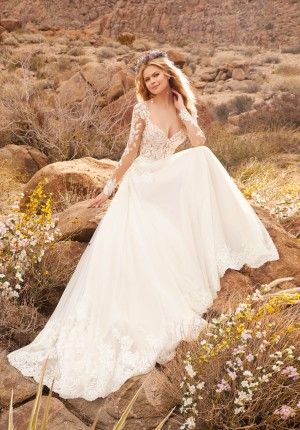 mori lee 2078 reagan illusion sleeve bridal dress 02 646