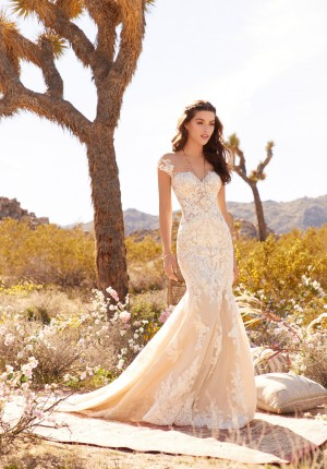 mori lee 2084 rosamund cap sleeve wedding dress 02 646