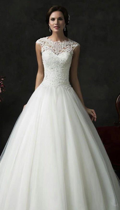 plus size designer wedding gowns elegant polka dot wedding gown beautiful i pinimg 1200x 89 0d 05 890d