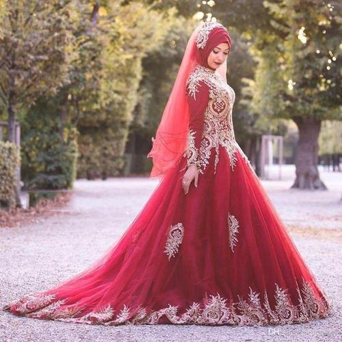 muslim wedding dresses 500x500