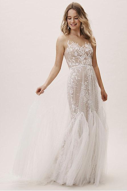 Wedding Dresses Like Bhldn Elegant Spring Wedding Dresses & Trends for 2020 Bhldn