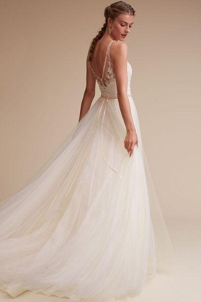 Wedding Dresses Like Bhldn Inspirational Ivory Champagne Cassia Gown Bhldn Wedding