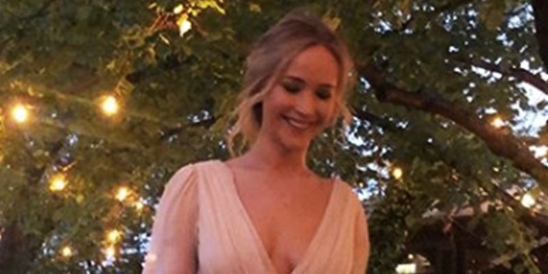 Wedding Dresses Lincoln Ne Inspirational Style Jennifer Lawrence Casually Wore A Tdf Pink Wedding