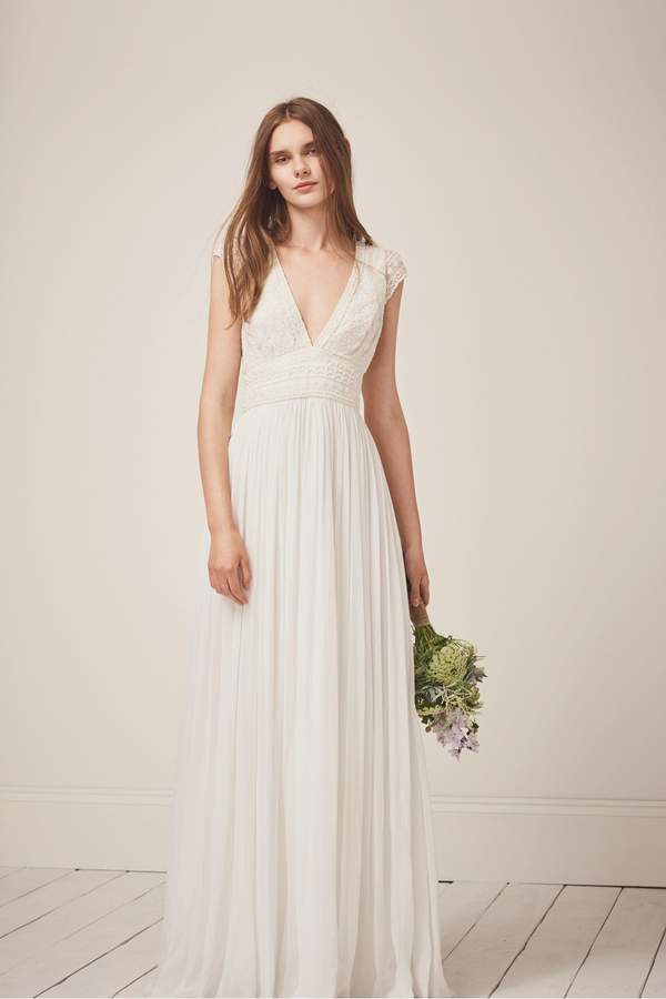 French Connection Palmero Embellished Wedding Dress