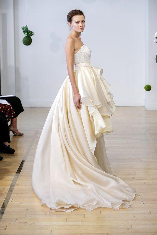 Wedding Dresses Miami Elegant Olea Bustier Paeonia Skirt Botanica Collection