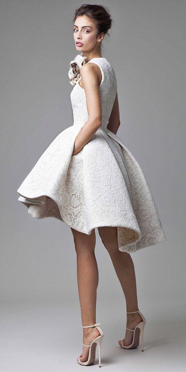 Wedding Dresses Pics Fresh Short Designer Wedding Dresses New I Pinimg 236x 10 B4 0d