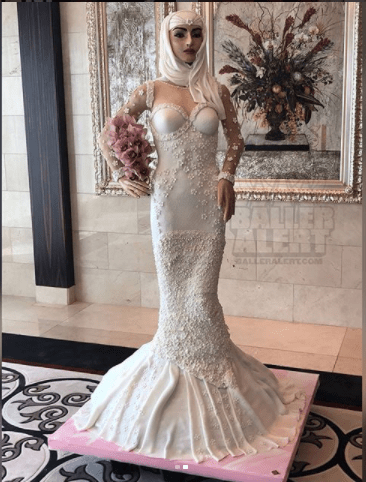 plus size short wedding dress ideas toward see photo od dubais million dollar wedding cake made in the form of