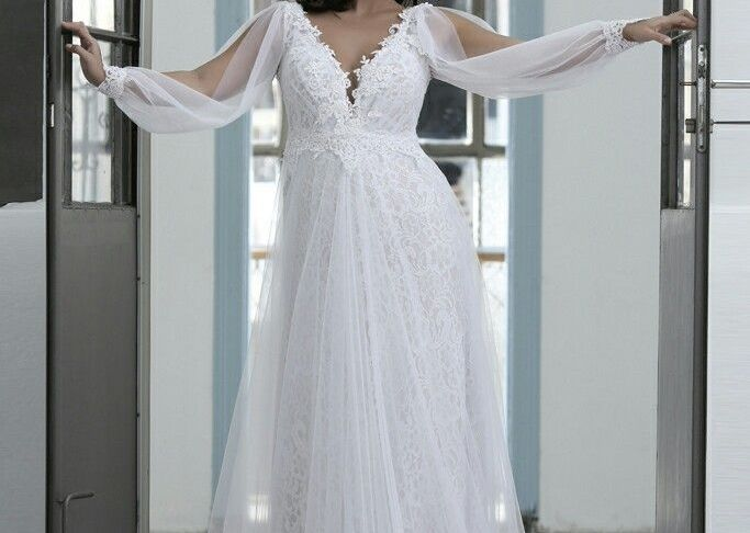 Wedding Dresses Plus Sizes Awesome Full Lace and Tulle Plus Size Wedding Gown with Unique