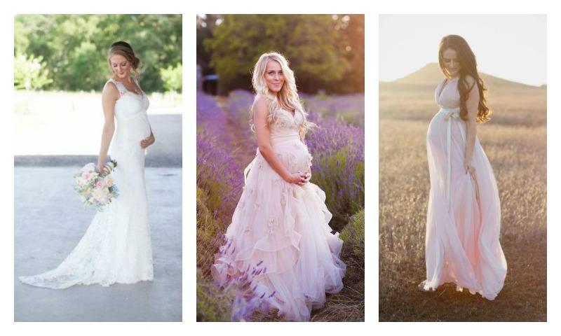 pregnant brides0