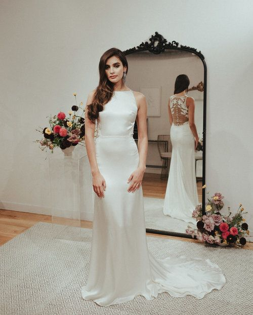 wedding gowns los angeles awesome silk satin wedding dress by sarah seven sarah seven