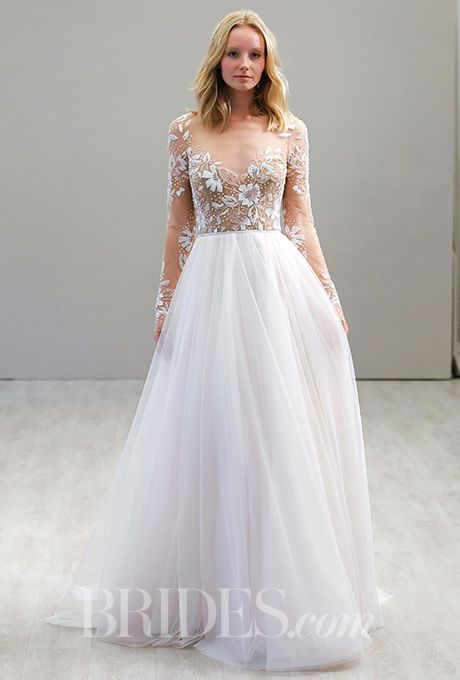 beautiful wedding dresses inspiration a stunning hayley paige wedding dress with a embellished bodice and sleeves