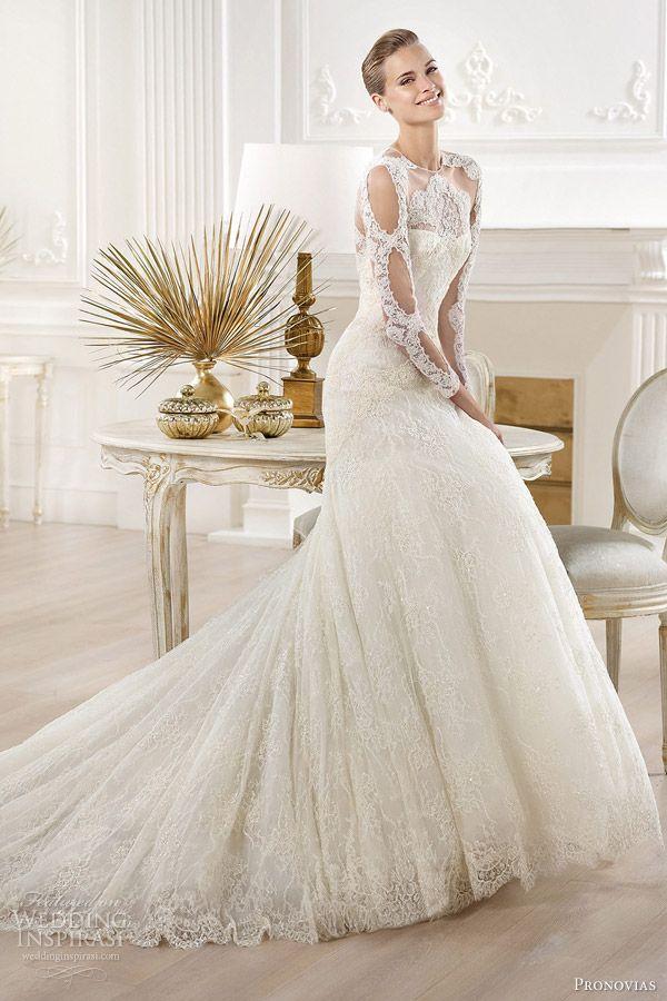Wedding Dresses San Jose Elegant atelier Pronovias 2014 Wedding Dresses