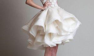 25 Unique Wedding Dresses Short