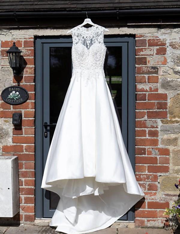 Wedding Dresses Size 10 Beautiful Pronovias Drusena Size 10