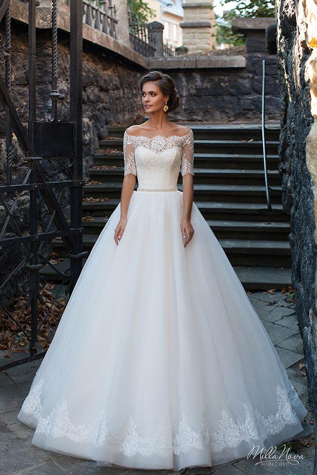 Wedding Dresses Size 10 Elegant Milla Nova Dalila Gowns