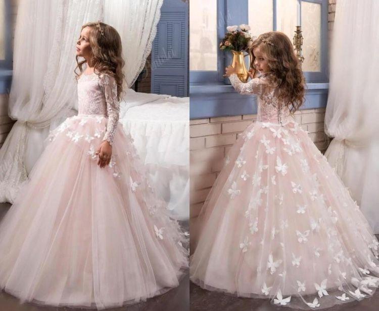 Wedding Dresses Tallahassee Fresh Ball Gown Handmade butterflies Flower Girl Dress