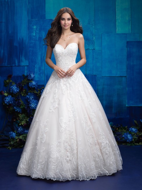 allure bridals 9413 wedding dress 01 2148