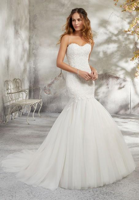 mori lee 5682 lyra trumpet silhouette wedding dress 01 418