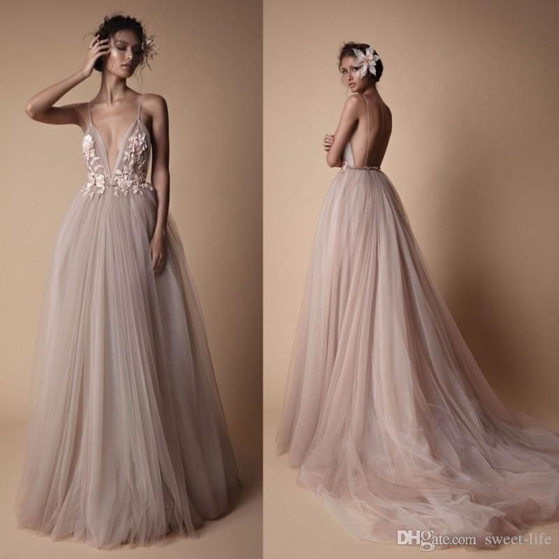 Wedding Dresses Under $1000 Luxury 2019 的 Berta 2018 Y Beach Wedding Dresses Backless