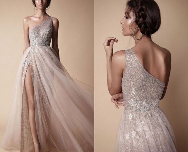 Wedding Dresses Under 200 Lovely Discount Berta 2018 High Side Split Sequined Wedding Dresses Bohemian E Shoulder Lace Appliqued Bridal Gowns Vestido De Novia Wedding Dresses Under