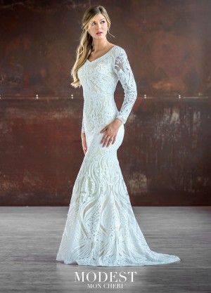 modest bridal by mon cheri tr sequin lace bridal gown 01 681