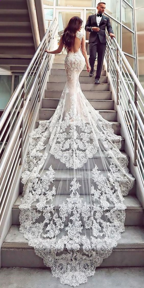 Wedding Dresses with Black Lace Luxury 20 Beautiful Floral Wedding Dresses to Get Inspired