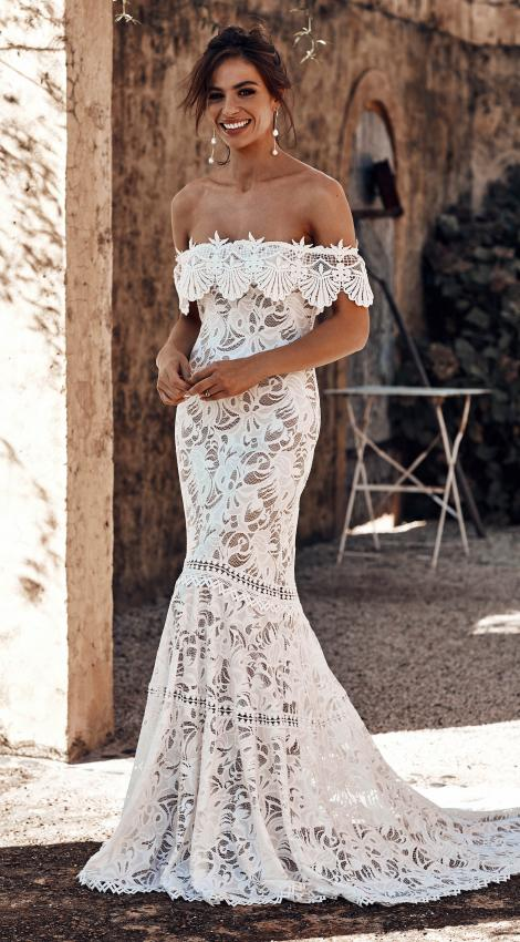 black lace wedding gowns beautiful wedding dresses