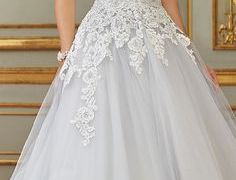 20 Awesome Wedding Dresses with Blue Accent