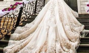 22 New Wedding Dresses with Cathedral Length Train