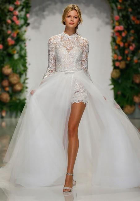 mori lee 2046 poesy romper with detachable overskirt wedding dress 01 578