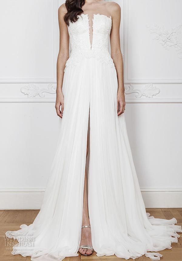 romantic beach wedding dresses fresh discount simple white beach wedding dresses 2017 slit lace bodice a