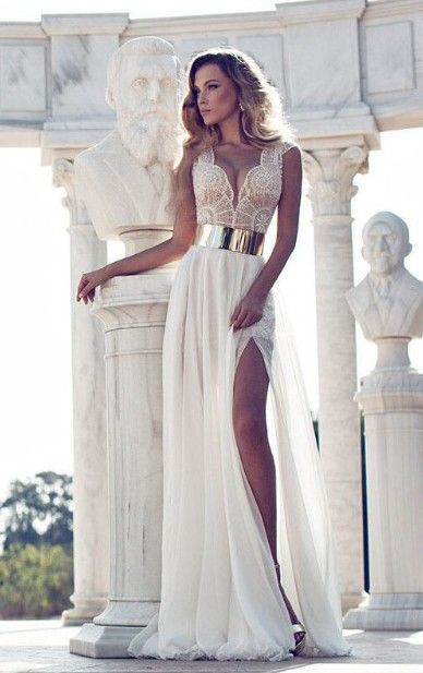 Wedding Dresses with Slits In the Front Elegant 38 Striking Wedding Dresses with Slit In 2019