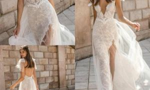 25 Beautiful Wedding Dresses with Slits