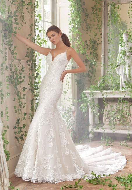 mori lee 5702 peta beaded spaghetti straps wedding gown 01 578