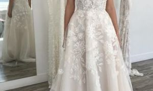 24 Awesome Wedding Dresses with Spaghetti Straps