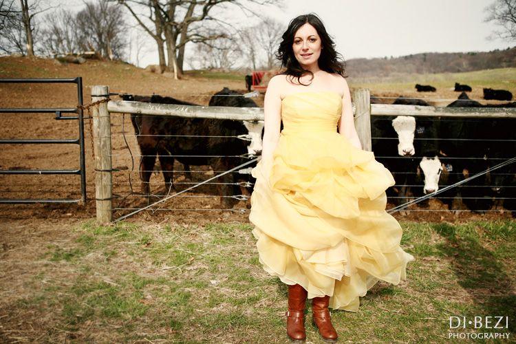 Wedding Dresses Yellow Lovely A Sunshine Yellow Wedding Dress Wedding Photos