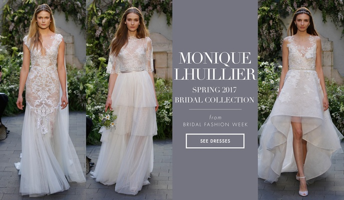 Wedding Gowns 2017 Beautiful Whimsical and Dramatic Wedding Dresses From Monique