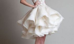 28 Luxury Wedding Short Dress