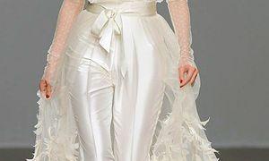 28 Unique Wedding Suits for Brides