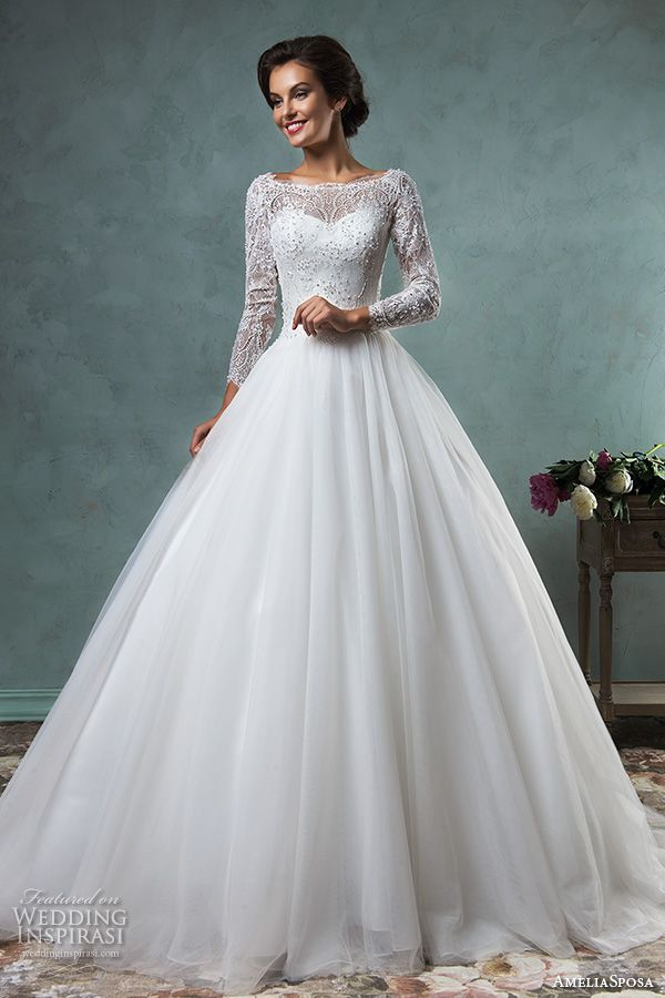 3 4 length sleeve wedding dress unique i pinimg 1200x 89 0d 05 890d af84b6b0903e0357a long wedding dresses