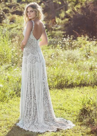 Lillian West 6495 Back Designer Wedding Dresses I Do I Do Bridal Studio New York New Jersey e