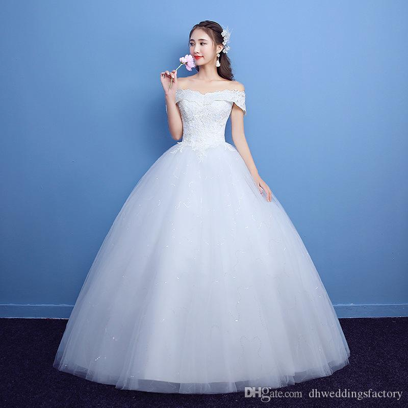 floor length bridal gowns bateau capped bridal